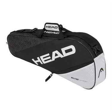 Head Elite Pro 3 Pack Tennis Bag - Black/White