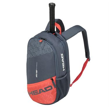Head Elite Tennis Backpack - Grey/Orange