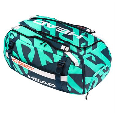Head Gravity r-PET Duffle Tennis Bag - Turquoise/Navy
