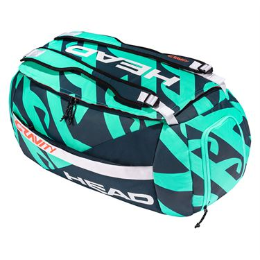Head Gravity r-PET Sport Tennis Bag - Turquoise/Navy
