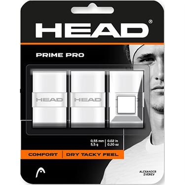 Head Prime Pro Overgrip - 3 Pack