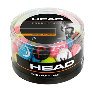 Head Pro Damp 70 Piece Jar - Assorted Colors