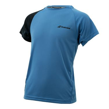Babolat Boys Performance Crew - Blue/Black