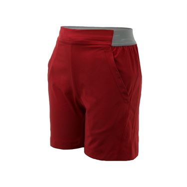Babolat Boys Performance Short - Black/Salsa