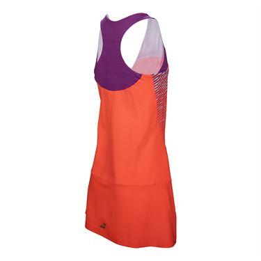 Babolat Girls Performance Racerback Dress - Fluo Red