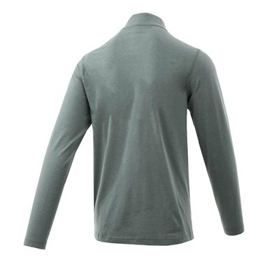 Travis Mathew Essentials Yanks 1/4 Zip - Heather Monument