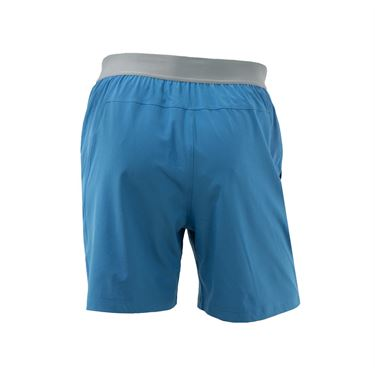 Babolat Performance 7 inch Short - Parisian Blue/Black