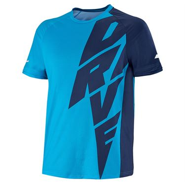 Babolat Drive Crew Mens Drive Blue 2MS21011X 4086