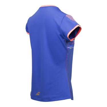 Babolat Performance Cap Sleeve Top - Twilight Blue