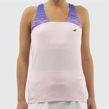 Babolat Perf Racerback Tank - Fluo Pink