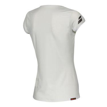 Babolat Wimbledon Perf Cap Sleeve Top - White