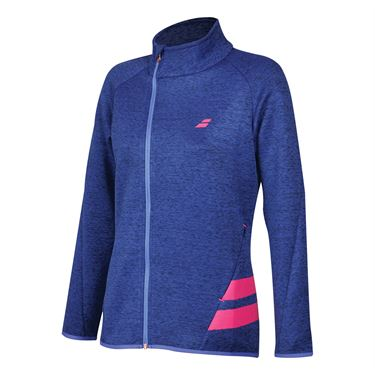 Babolat Wimbledon Perf Jacket - Estate Blue Heather