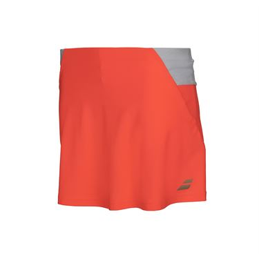 Babolat Girls Performance Skirt - Fluo Red