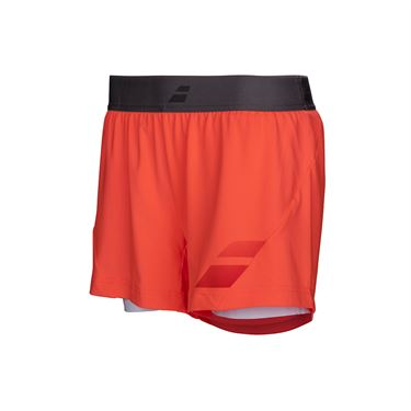 Babolat Performance Short - Fluo Red