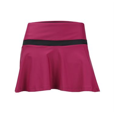 B Passionit Spectrum Breeze Skirt - Burgundy/Black
