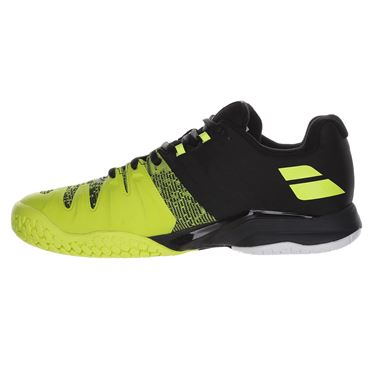 Babolat Propulse Blast All Court Mens Tennis Shoe Black/Fluo Aero 30F19442 2013