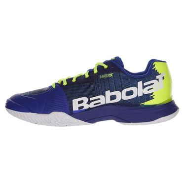 Babolat Jet Mach I All Court Mens Tennis Shoe Blue/Fluo Aero 30F19649 4043
