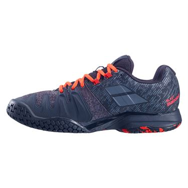 Babolat Propulse Blast All Court Mens Tennis Shoe Black/Tomato Red 30F20442 2019