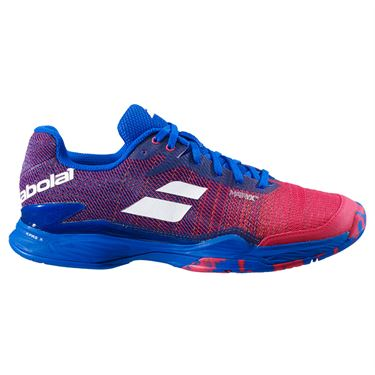 Babolat Jet Mach II All Court Mens Tennis Shoe Poppy Red/Estate Blue 30F20629 5034
