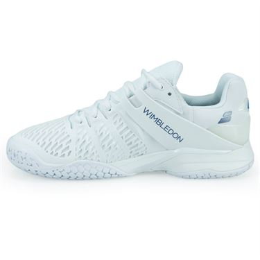 Babolat Propulse Fury Wimbledon Mens Tennis Shoe - White/Navy