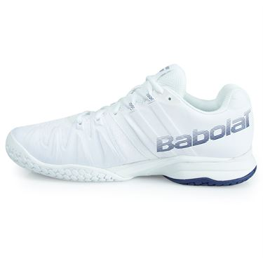Babolat Propulse Blast All Court Mens Tennis Shoe - White/Estate Blue