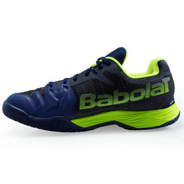 Babolat Jet Mach 2 Clay Mens Tennis Shoe (RUNS SMALL - SIZE UP 1/2 SIZE)