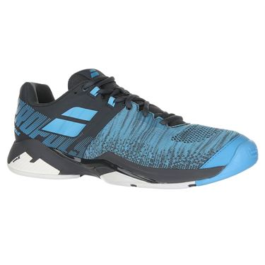 Babolat Propulse Blast All Court Mens Tennis Shoe - Grey/Blue