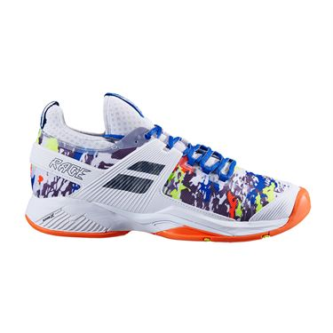 Babolat Propulse Rage All Court Mens Tennis Shoe White/Rabbit 30S20769 1011