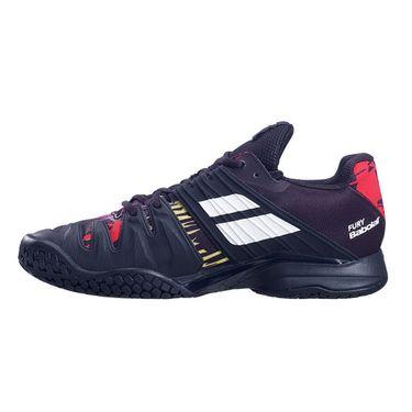 Babolat Propulse Fury All Court Mens Tennis Shoe Black/White 30S21208 2001û