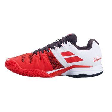 Babolat Propulse Blast All Court Mens Tennis Shoe Cherry Tomato/White 30S21442 5050