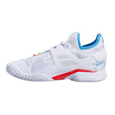 Babolat Propulse Rage All Court Mens Tennis Shoe White/Blue 30S21769 1010