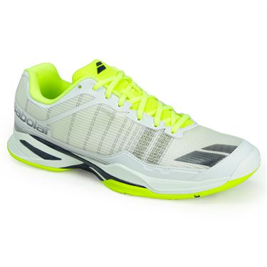 Babolat Jet Team All Court Mens Tennis Shoe - White/Yellow