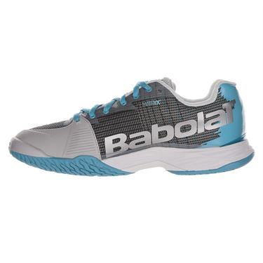 Babolat Jet Mach I All Court Womens Tennis Shoe Silver/Horizon Blue 31F19651 3013