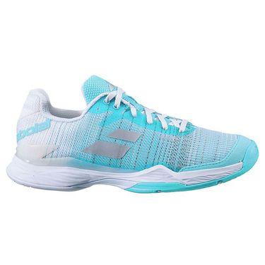 Babolat Jet Mach II All Court Womens Tennis Shoe Capri/White 31F20630 4067