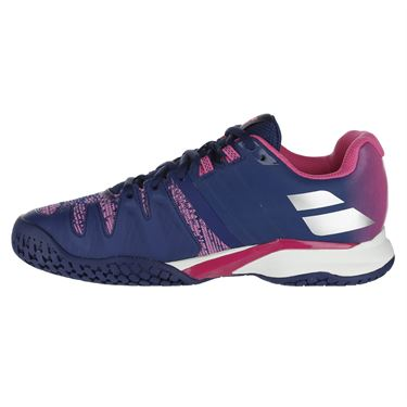Babolat Propulse Blast All Court Womens Tennis Shoe - Estate Blue/Fandango Pink