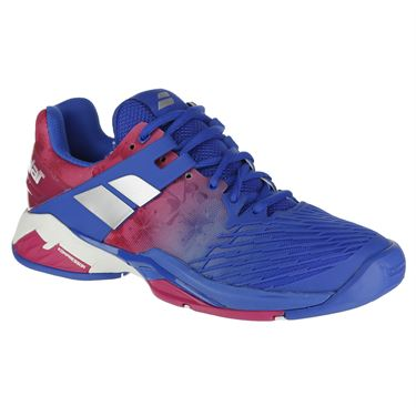 Babolat Propulse Fury All Court Womens Tennis Shoe - Princess Blue/Fandango Pink