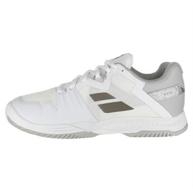 Babolat SFX 3 All Court Womens Tennis Shoe - White/Silver