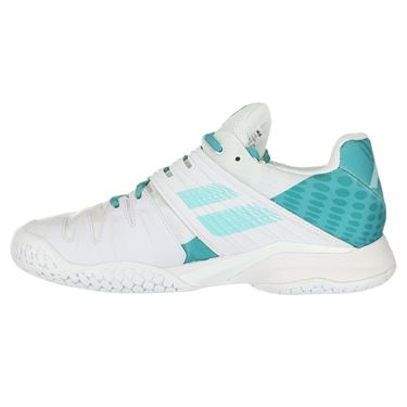 Babolat Propulse Fury All Court Womens Tennis Shoe - White/Mint Green