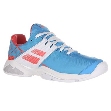 Babolat Propulse Fury All Court Womens Tennis Shoe - Sky Blue/Pink
