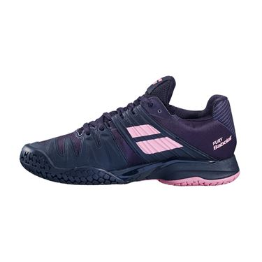 Babolat Propulse Fury All Court Womens Tennis Shoe Black/Geranium Pink 31S20477 2014