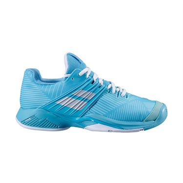 Babolat Propulse Fury All Court Womens Tennis Shoe Porcelain Blue 31S20477 4063
