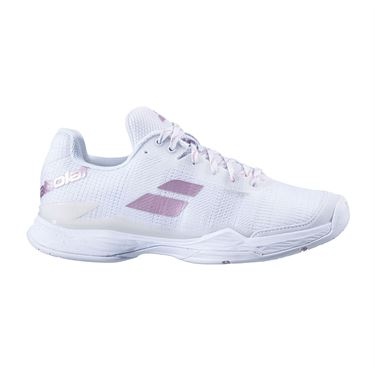 Babolat Jet Mach II All Court Womens Tennis Shoe White/White 31S20630 1000