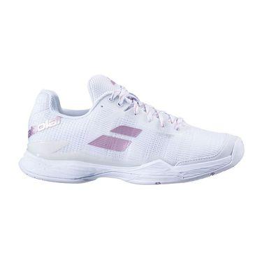 Babolat Jet Mach II All Court Womens Tennis Shoe White/White 31S20630 1000