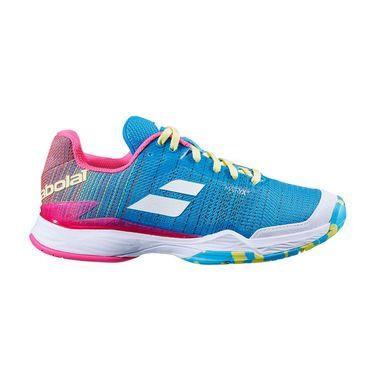 Babolat Jet Mach II All Court Womens Tennis Shoe Capri Breeze/Pink 31S20630 4066