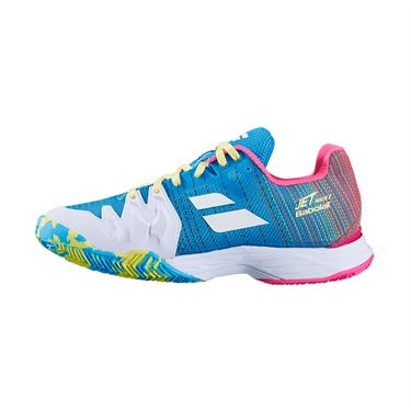 Babolat Jet Mach II Clay Womens Tennis Shoe Capri Breeze/Pink 31S20685 4066