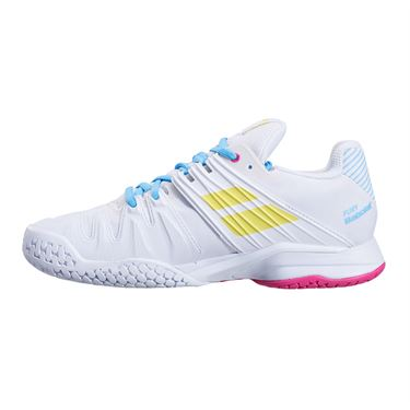 Babolat Propulse Fury All Court Womens Tennis Shoe White/Sulphur Spring 31S21477 1064û