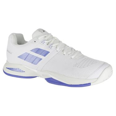 Babolat Propulse Blast All Court Womens Tennis Shoe - White/Wedgewood