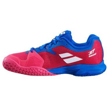 Babolat Jet All Court Junior Tennis Shoe Poppy Red/Estate Blue 32F20648 5034