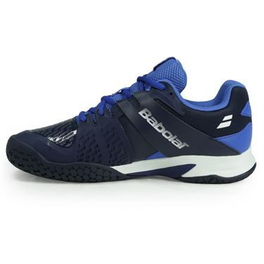 Babolat Junior All Court Tennis Shoe - Dark Blue