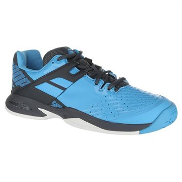 Babolat Junior Propulse All Court Tennis Shoe - Blue/Grey